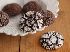 Chocolate Rye Spice Crinkles.