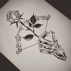 Don't wait for love, but give it – emeline – – Tattoo Sketches & Tattoo Drawings Pencil Art Drawings, Art Drawings Sketches, Tattoo Sketches, Tattoo Drawings, Cool Drawings, Beautiful Drawings, Skeleton Drawings, Sketch Tattoo Design, Skeleton Tattoos