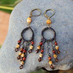 Chandelier earrings Earrings Christmas Gift vintage