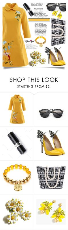 """""""Rosegal    14"""" by nejra-l ❤ liked on Polyvore featuring J.Crew, Summer, dress, promotion and rosegal"""