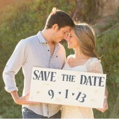 Save the Date Engagement session