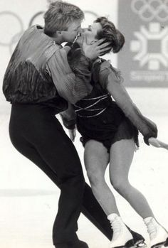 Torvill and Dean skating in the 1984 Olympics to 'Bolero'.
