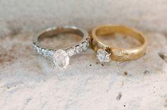 #wedding #rings Photography by brettheidebrecht.com  Read more - http://www.stylemepretty.com/2013/08/16/texas-bb-wedding-from-brett-heidebrecht/