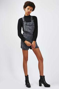 Wash Ringback Dungaree - Playsuits & Jumpsuits - Clothing - Topshop