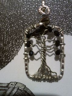 WİRE WRAPPED PENDANT