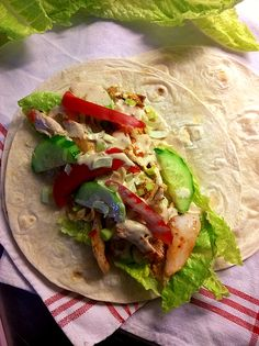Kebab Wrap, A Food, Food And Drink, Swedish Recipes, Bread N Butter, Chutney, Wraps, Grilling, Picnic