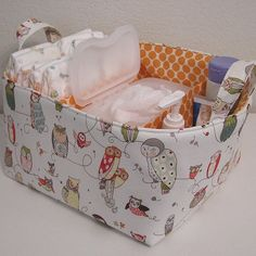 Diaper Caddy> I think T needs to try to make this.