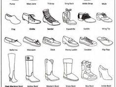 Fashion infographic: shoes Informations About 25 + › Mode-Infografik: Schuhe Pi Fashion Terminology, Fashion Terms, Trendy Fashion, Fashion Spring, Fashion Kids, White Fashion, Fashion Fashion, Types Of Fashion, Fashion 2018