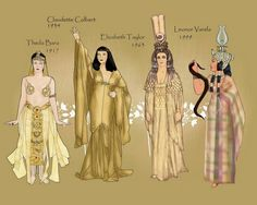 Paper Dolls Cleopatra | 1000+ images about Egyptian paperdolls on Pinterest