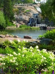 Kotka, Finland  Sapokka park.  My family lives near here.  It's a lovely place to walk.