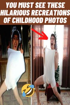 #Hilarious #Recreations #Childhood #Photos Childhood Photos, Ankle Tattoo, Wrist Tattoos, Foot Tattoos, You Must, Glam Bedroom, Bedroom Green, Amazing Facts, Amazing Things