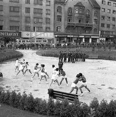 - pohľad z parku na Poštovej ul. Bratislava, Old Street, Prague, Dolores Park, Nostalgia, Arch, Squares, Travel, Times