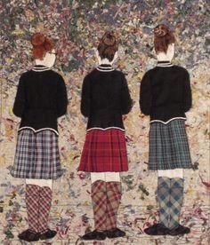 Scottish School Girls | Nancy Lou Quilts
