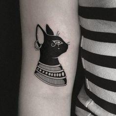 Head Tattoos, All Tattoos, Sleeve Tattoos, Tattoos For Guys, Script Tattoos, Arabic Tattoos, Flower Tattoos, Bastet Tattoo, Anubis Tattoo