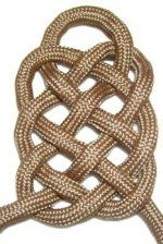 Celtic knot -- use to make a floor mat with several thicknesses