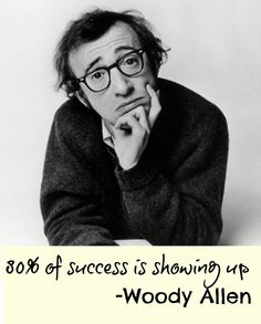 Woody Allen Quote on #success