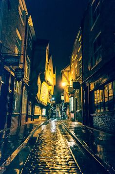 The Shambles / York / City of York / Yorkshire / Old Streets / Historic / Wall Art by MartynHeathPhoto on Etsy