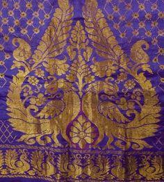 Vintage Silk Purple Saree | vintagekart