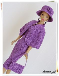 Bena PL Clothes for Silkstone Vintage Barbie Victoire Roux OOAK Outfit | eBay
