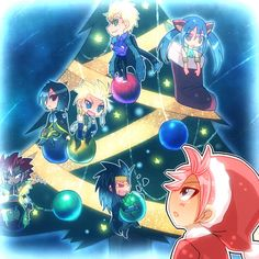 Fairy Tail Christmas- Dragon Slayers
