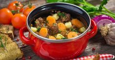 Recette de Boeuf mijoté minceur aux carottes et aux pommes de terre. Facile et rapide à réaliser, goûteuse et diététique.