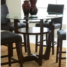 Standard Furniture   Apollo Counter Height Glass Table   10816_1010816