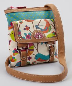 Love this Lily Bloom Tweety Twig Crossbody Bag by Lily Bloom on #zulily! #zulilyfinds