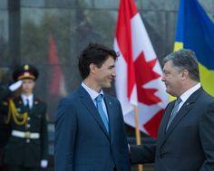 Не зважаючи на велику відстань, яка розділяє наші країни, ми завжди відчуваємо дружнє плече Канади