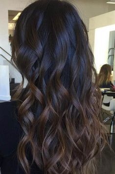 Great Ombre Styles for Darker Ombre Hair ★ See more: http://glaminati.com/great-darker-ombre-hair-ideas/