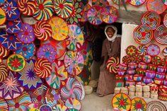 Postcard from Ethiopia - Basket Maker