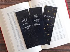 Bookmarks Quotes, Bookmarks For Books, Creative Bookmarks, Diy Bookmarks, Printable Bookmarks, Printables, Quotes For Book Lovers, Book Lovers Gifts, Space Quotes