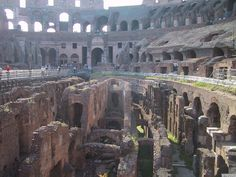 Elite #Colosseum Underground - Step foot in the underground chambers where gladiators and wild animals were held before their epic battles. #CelebrityCruises