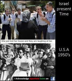 The parallels are striking :( Palestine Art, Palestine History, Israel, Apartheid, United We Stand, Forced Labor, World Peace, Judaism, Losing Her