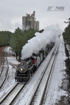 Norfolk Southern train in Virginia.