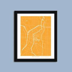 San Antonio map, San Antonio city map art, San Antonio wall art poster, San Antonio decorative map. San Antonio Street Map - Choose from 20 colors to match any decor. Carefully printed using the highest quality UltraChrome archival inks on premium archival paper. All images are printed with the white border as shown, which makes framing a snap. Frames shown are not included.Your custom handmade print will be carefully packaged and shipped in a sturdy mailer within 1-3 business days.