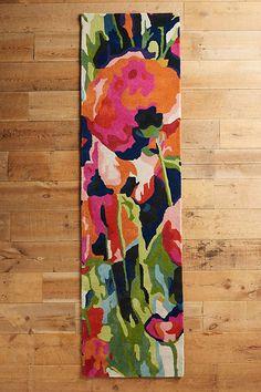 Brilliant Poppies Rug