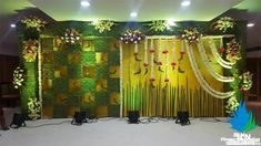 Engagement Stage Decoration, Naming Ceremony Decoration, Marriage Decoration, Wedding Stage Decorations, Flower Decorations, Recycled Wedding, Background Decoration, Wedding Mandap, Event Decor