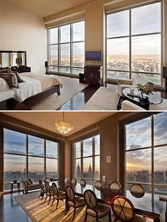 Derek Jeter's 17.95 million dollar penthouse in NYC.  I know I'm obsessed.