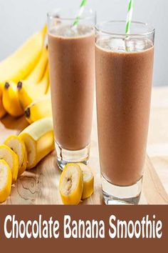awesome Chocolate Banana Smoothie