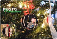 Homemade Photo Ornament