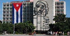 El Mural del Che Guevara, en la Plaza de la Revolución