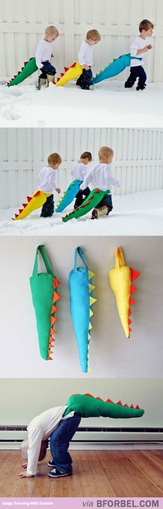 Dinosaur Tails For Kids Are The Cutest Things Ever…