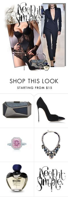 """Keep it Simple ~ Elegant"" by punkbz ❤ liked on Polyvore featuring Ivanka Trump, Casadei, Tiffany & Co., SHOUROUK, Moschino, women's clothing, women's fashion, women, female and woman"