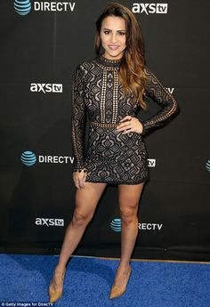 The ex factor: Andi Dorfman (pictured last month) quit the show in third place after spending the night in the Fantasy Suite with the former soccer player, describing the experience as a 'nightmare'. She went on to become The Bachelorette