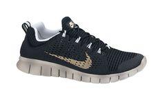 1d0001c23635 Nike Free Powerlines+ 2 Black Metallic Gold Nike Shoes Usa