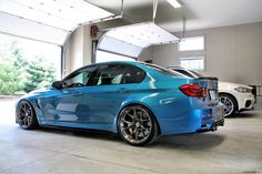 image of A Gorgeous Atlantis Blue BMW F80 M3 Project Photoshoot 3 750x500