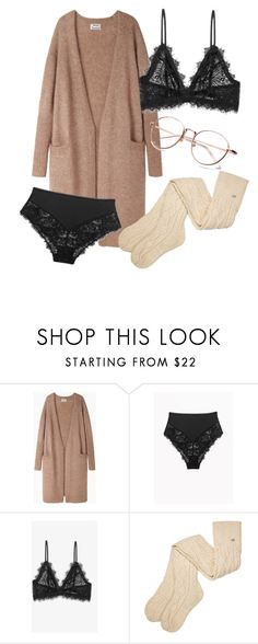 """""""Untitled #458"""" by vanileeeeeeen ❤ liked on Polyvore featuring Acne Studios, Anine Bing and UGG"""