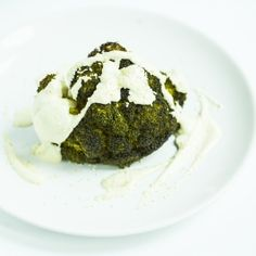 Egészben sült brokkoli Tahini, Mashed Potatoes, Beef, Ethnic Recipes, Food, Whipped Potatoes, Meat, Smash Potatoes, Essen