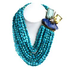 Turquoise Necklace #Follow #IradjMoini