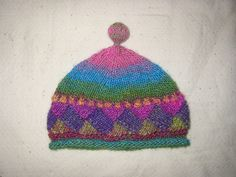 cute entrelac hat - want to knit this    Ravelry: Crown Jewel Hat pattern by Kendra Hope